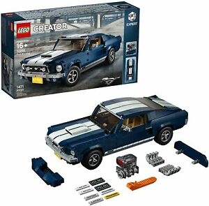 LEGO Creator Expert Ford Mustang GT Set (10265) Limited Edition Building Kit NEW