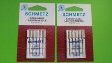 10 Macchina da cucire Aghi Schmetz PELLE AGO 130/705 H RESISTENZA 70/10