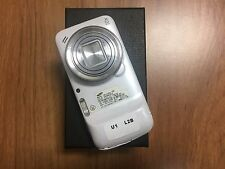 Samsung Galaxy S4 Zoom SM-C105A 16GB White LCD Cracked Untesed