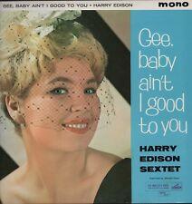 HARRY EDISON SEXTET. Mono CLP1350 HMV Mono  Vinyl LP   HL5.505