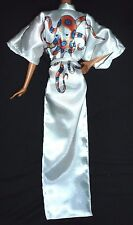 LINGERIE ~ OCTOPUSSY 007 MODEL MUSE WHITE SATIN ROBE BARBIE DOLL CLOTHING ITEM