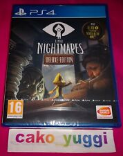 LITTLE NIGHTMARES DELUXE EDITION SONY PS4 NEUF VERSION FRANCAISE
