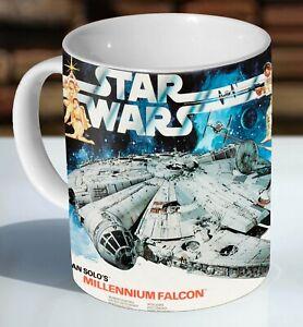Airfix Star Wars Millennium Falcon Box Art Ceramic Coffee Mug - Cup