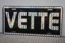 RETRO 1970'S PRISM VETTE METAL LICENSE PLATE CORVETTE STREET FREAK DAY 2 PARTS