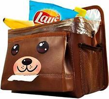 Coolmum Car Garbage Can with Storage Pockets - Garbage Bag Organizer - Car Tras