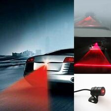 1XCar Cool Pattern Anti-Collision End Rear Tail Fog Driving Laser Caution Light
