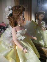 "1997 COA Madame Alexander GARDENIA GALA GOWN Cissy Doll ORIG Choker Shoes 21"""