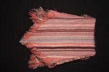 Trendy Women Boho Mexican Style Southwestern Pink&Grey Triangle Scarf(S286)