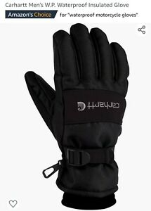 Carhartt Insulated Waterproof  Work/Motorcycle Gloves Black/Small