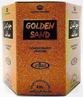Golden Sand Perfume Oil 6ml Roll On Perfume by Al-Rehab Crown Perfumes(Box of 6)