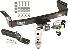 2000-2003 FORD RANGER COMPLETE TRAILER HITCH PACKAGE W/ WIRING KIT CLASS 3 REESE