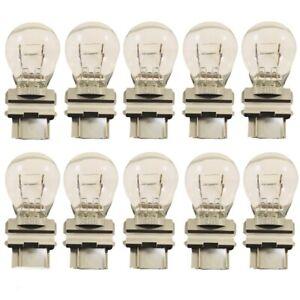 10x 4057 Brake Tail Stop Light Bulbs Long Life Rear Lamps Reverse Bulb