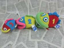 1-2-3 Counting Fish Plush Hoopla by Andre Three in One  Manhattan Toy
