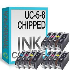 12 CHIPPED Compatible Ink Cartridge for Pixma MP510 MP520 MX700 iX5000 Printer