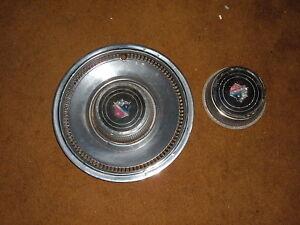 "1974 Buick estate wagon hub cap 15"" wheel cover WITH EXTRA CENTER CAP"