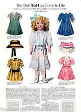"""5-Pattern Packs for 11"""" Bleuette Daisyette Doll 1911"""