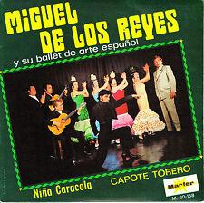 """7"""" promo MIGUEL DE LOS REYES y BALLET de ARTE ESPAÑOL niña caracola SPAIN 1970"""
