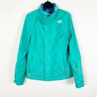 The North Face Womens Winter Snow Ski Jacket Green Neon Size XS