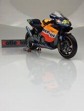 MINICHAMPS 122027146 HONDA RC211V Repsol n°46 Moto GP 2002 V. Rossi 1.12 NB