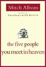 The Five People You Meet In Heaven - Hardcover By Albom, Mitch - VERY GOOD