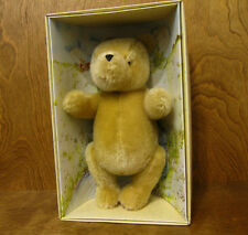 "Classic Pooh Gund  Plush #7940 CLASIC POOH, 11"" Fully jointed Mohair, Mint/Box"