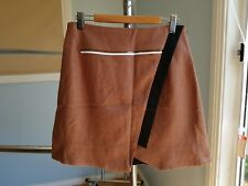 CUE bronze colour A-line skirt size 6 very good condition
