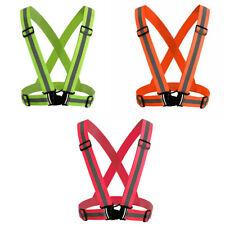 Red/Orange/Green Color Security Safety Vest High Visibility Reflective Stripes