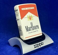 Zippo Marlboro Cigarettes Red Pack Design 5 Sided NEW Unfired Mint Rare
