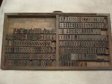Letterpress wood type - Vintage Wood Type