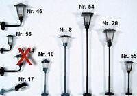 1 Stück Lampe,Leuchte,Laterne für Ihre Märklin H0 Bahn (ab 4 Stück 1x gratis)