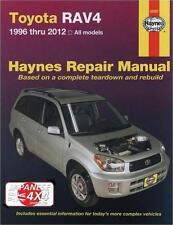 for: TOYOTA RAV 4 **NEW SHRINK-WRAPPED HAYNES MANUAL** 1996-2012 - PETROL MODELS