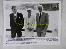 Press Photo Mission Impossible Peter Graves Jane Badler Thaao Penghlis