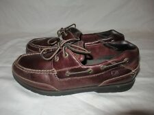 Sperry Top-Spider Stingray Brown Leather Boat Shoes Loafers Collection Men's 11M