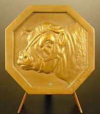 Médaille Vache Taureau Bull Cow animal bovin élevage Cattle sc Delandre Medal