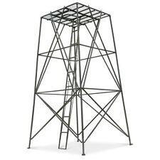 Elevated 10' Steel Ladder Stand Platform Tower Climb Deer Buck Hunting Sturdy