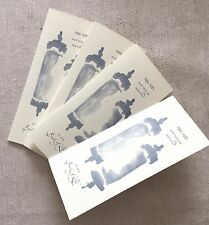 Bernie Madoff Family Jewish New Year Rosh Hashanah Card Personally Owned x 4