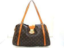 Authentic LOUIS VUITTON Stresa GM Monogram M51188 Shoulder Bag FL4079