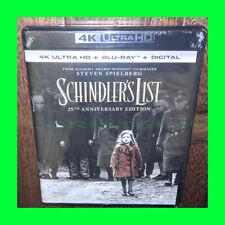 Brand New - Schindler's List 25th Anniversary Edition (4K + Blu-ray + Digital)