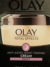 OLAY Total Effects Anti-Aging Night Firming Cream 1.7 oz BB 2022