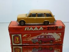 CCCP USSR A11 NOVOEXPORT LADA VAZ 2102 - MUSTARD BROWN 1:43 - VERY GOOD IN BOX