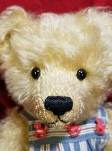 """Sue & Randall Foskey Nostalgic Bears 15"""" artist teddy bear mohair 1994"""