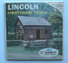 Lincoln Heritage Trail    View Master  Packet  1960s