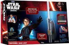 Star Wars Science - Multicolor Lightsaber Room Light - Jedi Lamp Hangs on Wall!