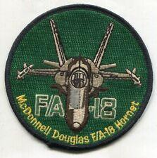 Usn F/A-18 F-18 McDonnell Douglas Hornet Patch