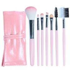 7PCS Make Up Brushes Eyeshadow Eyeliner Blending Eyebrow Brushes Gift Set UK