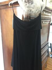 LAST TANGO MADE IN USA WOMAN SKIRT BLACK ASYMETRICAL Amazing Design Size Small