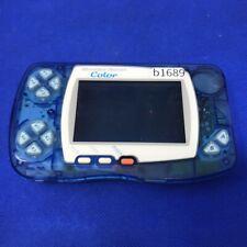 b1689 Bandai WonderSwan color console Crystal Blue WSC Japan Express