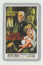 2006 Spanish Pocket Calendar - Count Dracula - Klaus Kinski Christopher Lee