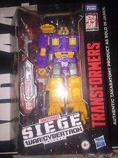 IMPACTOR Transformers SIEGE WAR FOR CYBERTRON Deluxe Class 2019