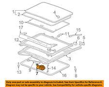 GM OEM Sunroof Moon Roof-Motor 15862418